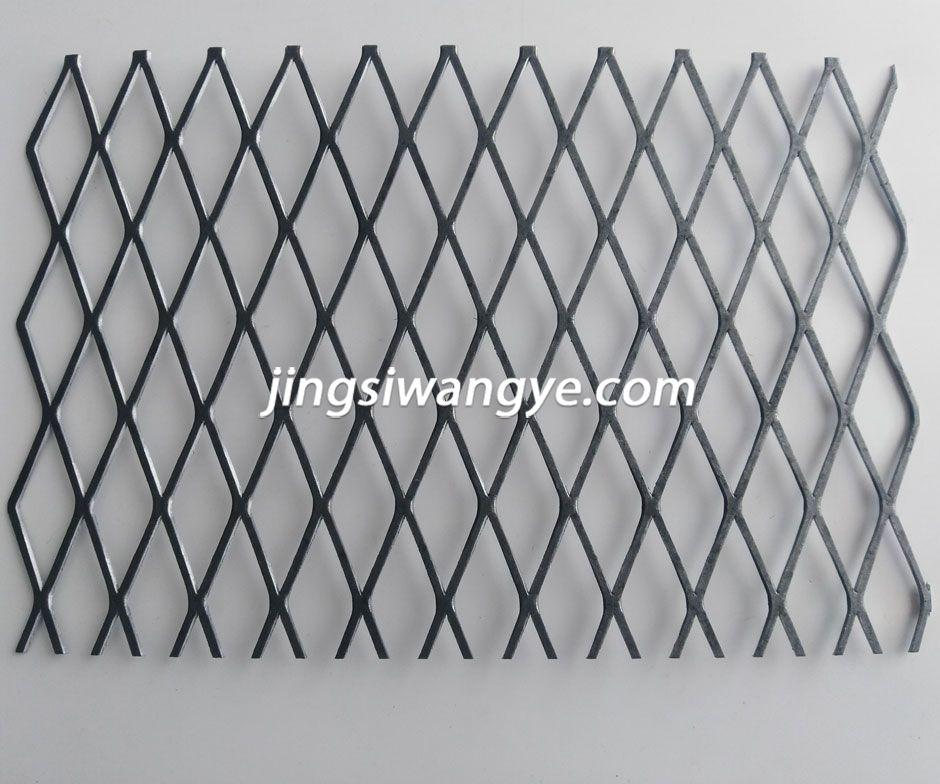 轧平钢板网